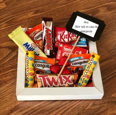 kit de chocolates